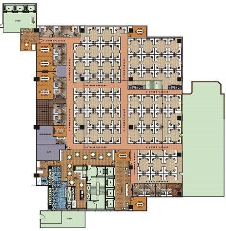 IBC Knowledge Park Bannerghatta Road floor plan