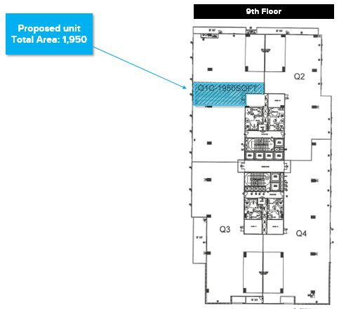 Umiya Business Bay Outer Ring Road floor plan